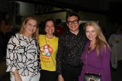 Raquel Bruno, Melissa Dall'olio, Racine e Branca Mourão