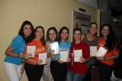 Roberta Costa, Paula Fiuza, Carol Fujita, Tissi Studart Sidrim, Karlla Magalhães, Andréa Campos Costa e Manoela Macedo