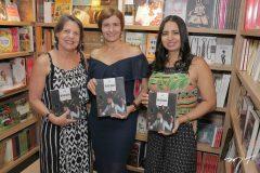 Denise de Castro, Raquel Cajé e Simone Farias
