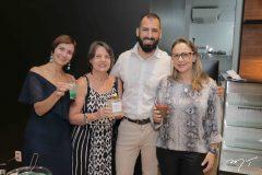 Raquel Cajé, Denise de Castro, Victor Quaranta e Georgia Philomeno