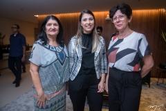 Lúcia de Fátima, Bruna de Queiroz e Rizélia Alencar