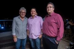 Ricardo Marinho, Rômulo Vasconcelos e Marcelo Rego