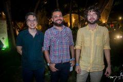 Alan Siqueira, Jorge Frota e Caiubi Mani