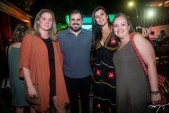 Camila Maia, Tiago Borges, Jamile Peixoto e Joana Nogueira