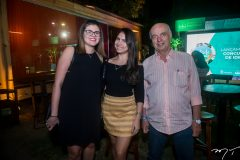 Sarah Silva, Karla Rocha e Fernando Mota
