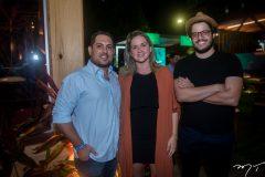 Thiago Mafra, Camila Maia e Kade Juaçaba