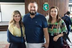 Débora Buchholz, Wescley Jorge E Diana Vasconcelos
