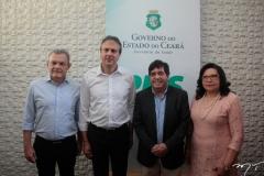 Dr. Sarto, Camilo Santana, Dr. Cabeto E Nailde Pinheiro