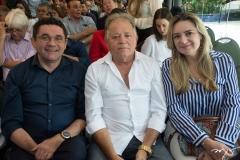 Lielson Landim, Evanderto Almeida E Augusta Brito
