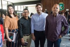 Rochelle Leitão, Vicente De Paula, Rodrigo Mesquita E Francisco Oliveira