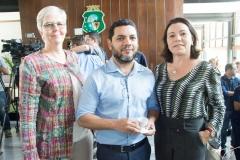 Úrsula Campos, Francisco Daniel E Virginia Silveira