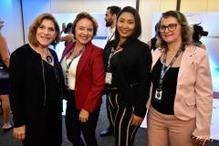 Cristina Freymanes, Silvana Maximo, Samara Oliveira e Célia Batista