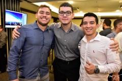Elieser Martins, Paulo José e Adriano Freitas
