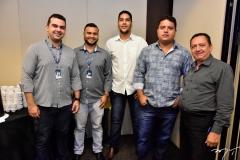 Felipe Freire, Joselves Sousa, Emerson Mariadno, Fernando Fernandes e Chiquinho Pinto