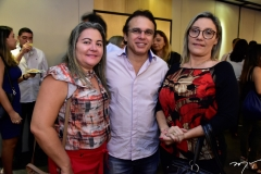 Ivaneide Freitas, Francisco Dantas e Verbenia Vasconcelos