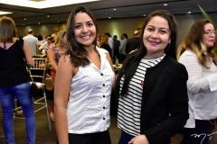 Raquel Rodrigues e Janaina Magalhães