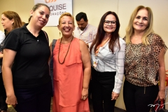 Waleska Granjeiro, Adriana Leite, Vanda Meneses e Cláudia Soria