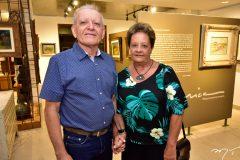 Clidenor Capibaribe Filho e Ana Nery