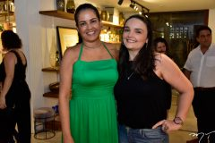 Denise Cabral e Sara Rios