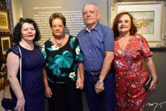 Kadma Marques, Ana Nery, Clidenor Filho e Clicia Capibaribe