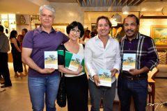 Leonardo Leal, Denise Mattar, Rodrigo Parente e Antonio Almeida