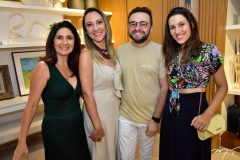 Luciana Cidrao, Ramiro Mendes e Brenda Rolim