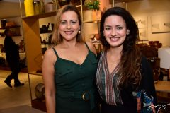 Patricia Teofilo e Lina Cidrao