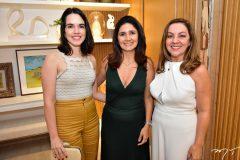 Roberta Aguiar, Luciana Vieira e Regina Vieira