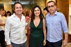 Rodrigo Parente, Luciana Cidrao e Delano Belchior