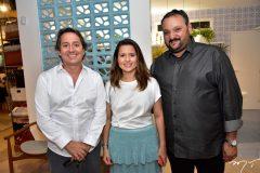 Rodrigo Parente, Renata e Patriolino Dias