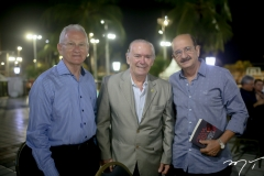 Antonio Colaço, Seridião Montenegro e Geraldo Jesuino
