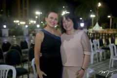 Celma Prata e Angela Gutiérrez