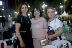 Marilena Campos, Angela Gutiérrez e Lurdinha Leite Barbosa