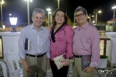 Padua Lopes, Bernadete e José Augusto Bezerra