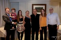 Rafael eTheo Furtado, Camila Bittar, Celma Prata, Antonio José Bittar, Mariana Frota e Rodrigo Bittar