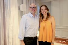 Rodrigo Bittar e Mariana Frota