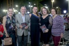 Tereza Leite, Seridião Montinegro, Celma Prata, Celma Morais e Lucia Filgueiras