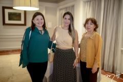 Tereza Prata, Andrea Coelho e Zirlane Coelho