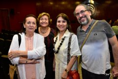 Conceicao Almeida, Mirandir e Tania Vasconcelos e Julino Smith