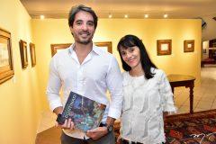 Rodrigo Porto e Adriana Hortencio