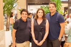 Dito Machado, Sandra Pinheiro e Thiago Holanda