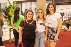 Eveline Frota, Mirella Freire e Joana Ramalho