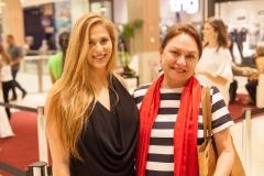 Nina Gruska e Paula Frota