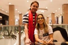 Paula Frota e Mirella Freire
