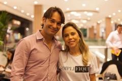 Cláudio Rocha e Mirella Freire