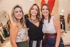 Erika Queiroz, Ana Paula Daud e Márcia Andréa