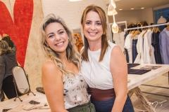Erika Queiroz e Márcia Andréa