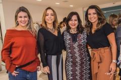 Jeritza Gurgel, Ana Paula Daud, Martinha Assunção e Márcia Travessoni