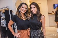 Márcia Travessoni e Raquel Machado