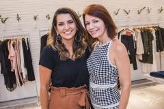 Márcia Travessoni e Suzane Farias